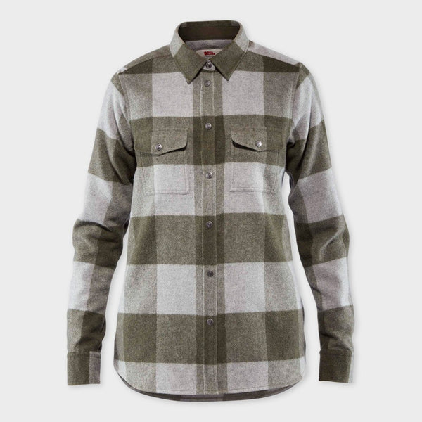product: Fjallraven Women's Canada Shirt Laurel Green/Fog
