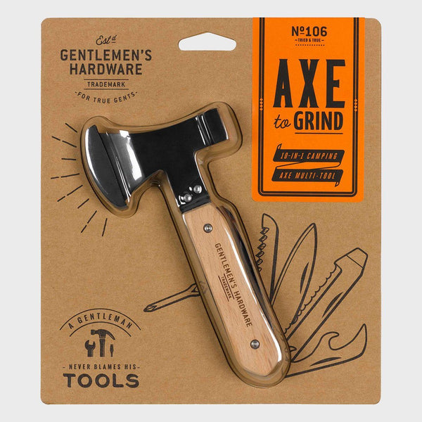 product: Gentlemen's Hardware Axe Multi Tool