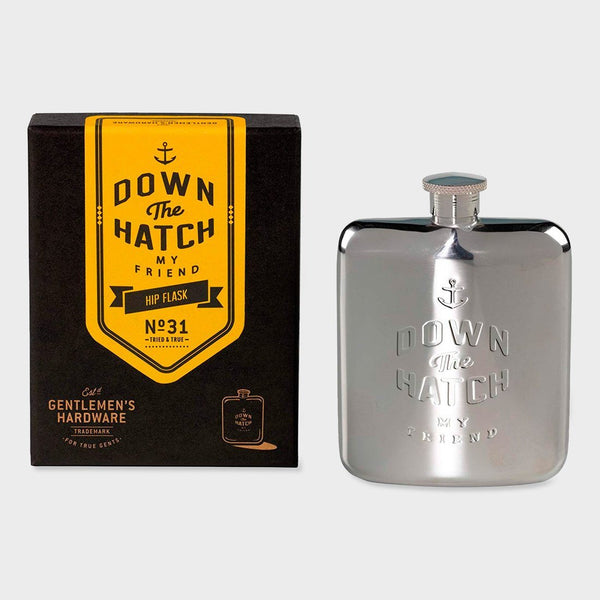 product: Gentlemen's Hardware Down the Hatch Hip Flask