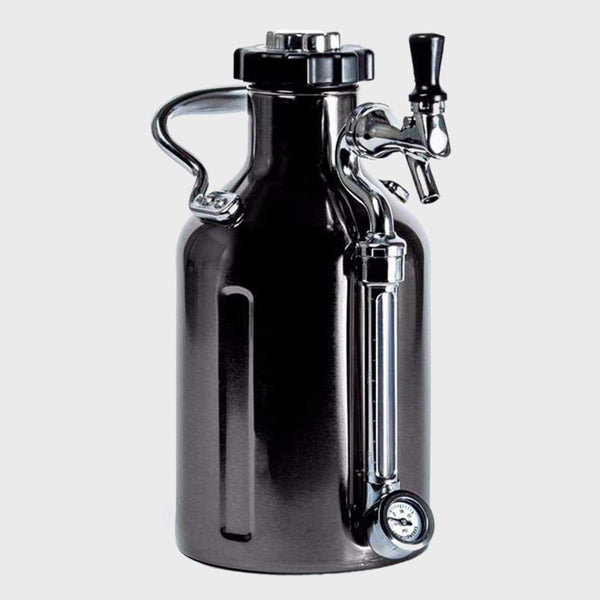 Growlerwerks Ukeg 64 Black Chrome