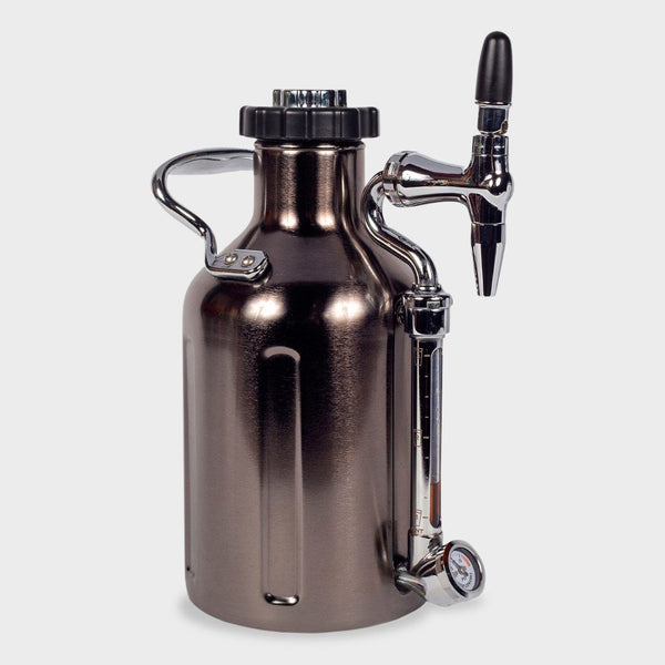 product: Growlerwerks uKeg Nitro Cold Brew Coffee Maker Black Chrome