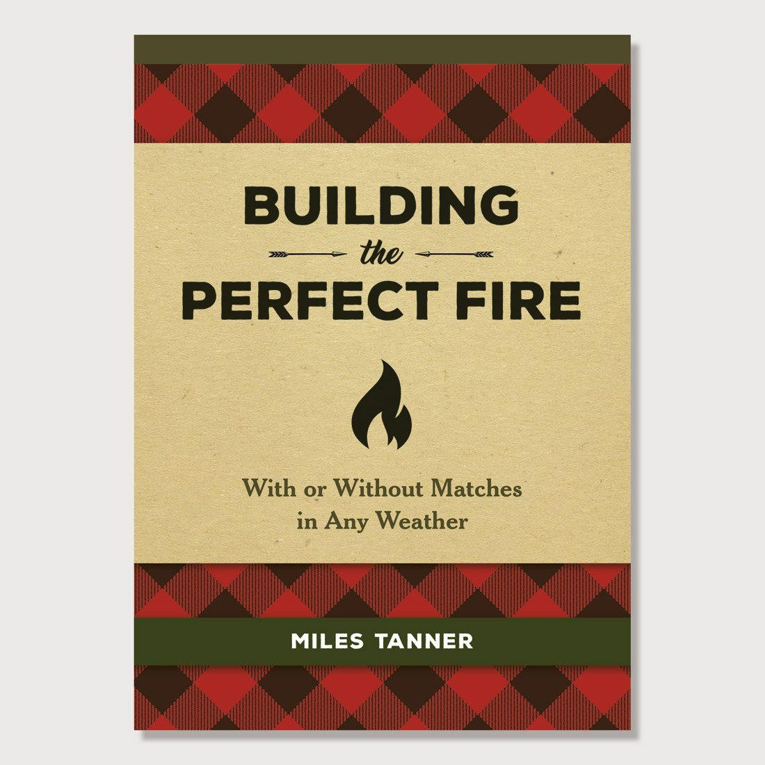Hachette Book Group Building the Perfect Fire Buffalo Plaid