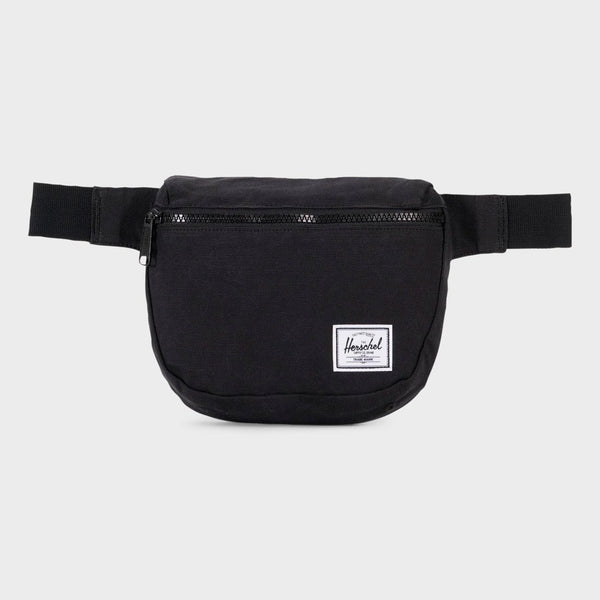 product: Herschel Fifteen Hip Pack Cotton Canvas Black