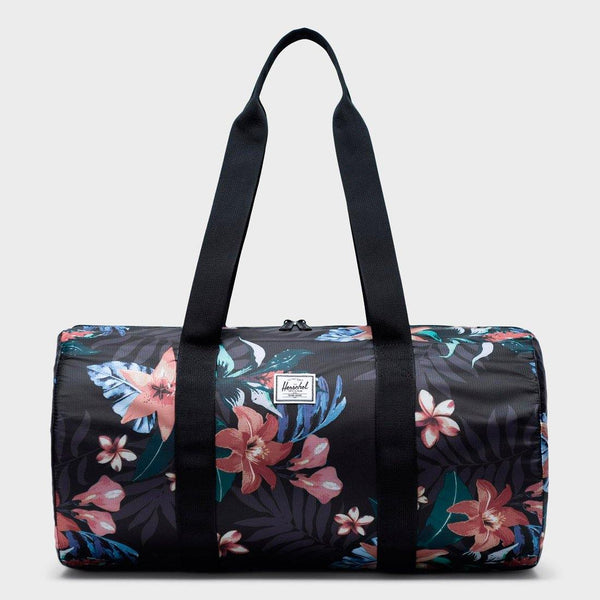 product: Herschel Packable Duffle 22L Summer Floral Black