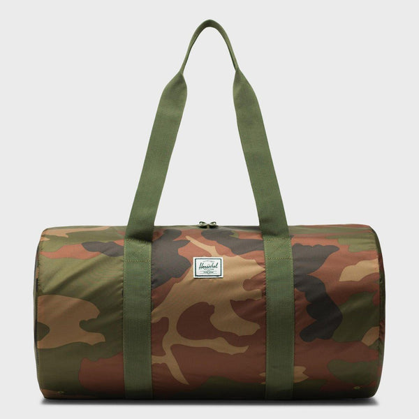 product: Herschel Packable Duffle 22L Woodland Camo