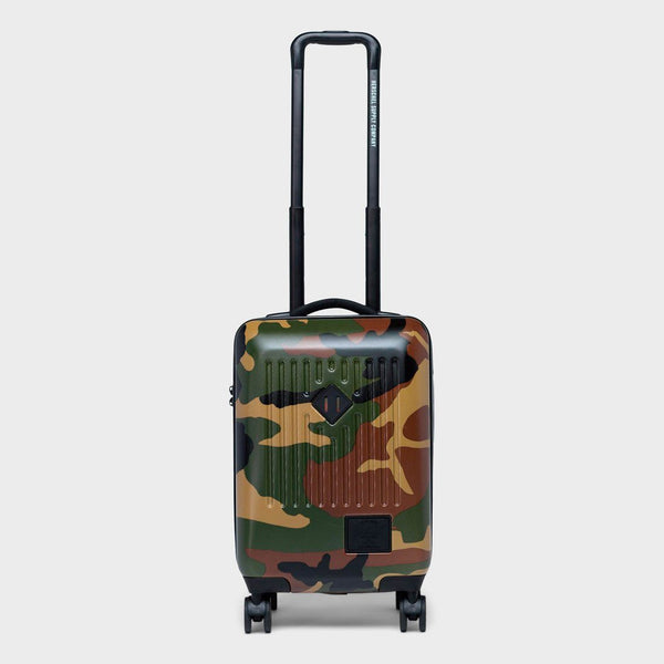 product: Herschel Trade Carry On Woodland Camo/Vermillion Orange