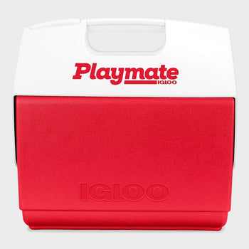 product: Igloo Playmate Elite 16QT Cooler Red/White