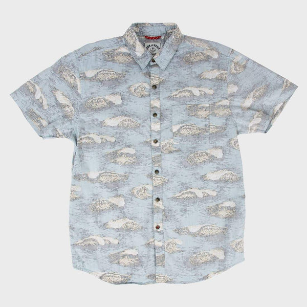 product: Iron & Resin Haleiwa Shirt Sea Blue
