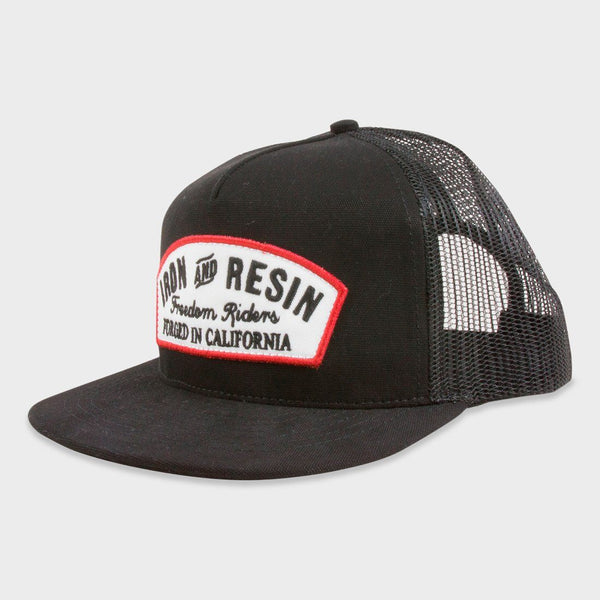 product: Iron & Resin Region Hat Black