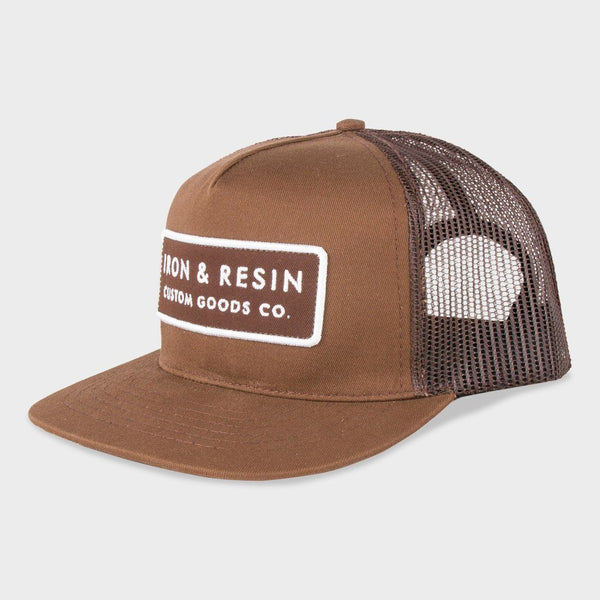Iron & Resin Standard Hat Nutmeg