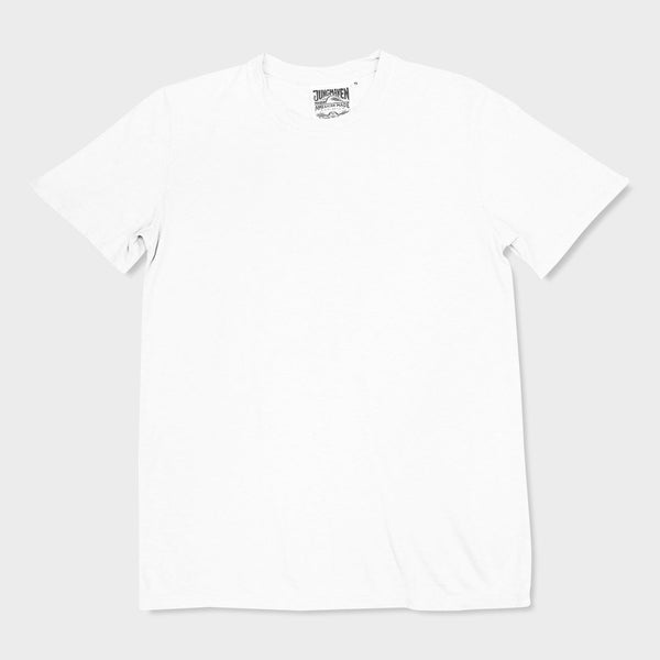 product: Jungmaven Basic T-Shirt Washed White
