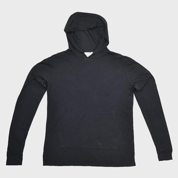 product: Jungmaven Jah Light Hooded Sweatshirt Washed Black