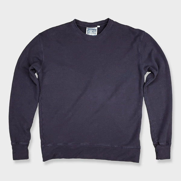 product: Jungmaven Tahoe Terry Sweatshirt Navy