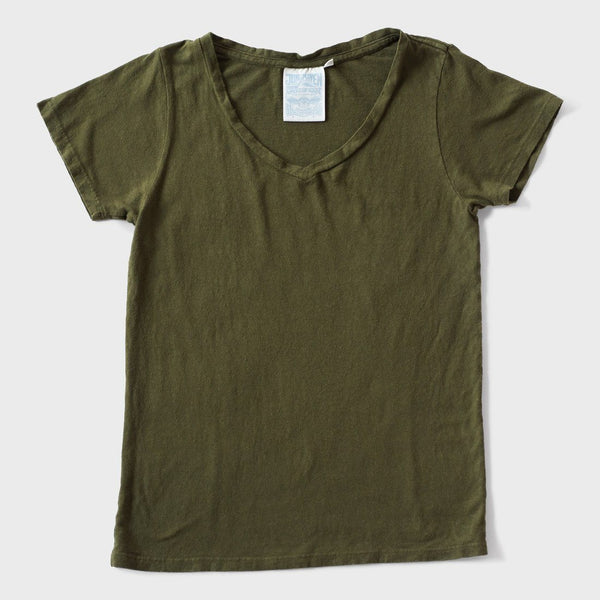 product: Jungmaven V-Neck T-Shirt Supply Green