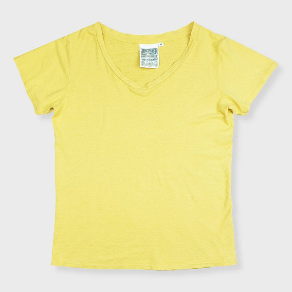 product: Jungmaven Women's Paige V-Neck 5oz Sunray