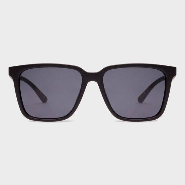 product: Le Specs Fair Game Sunglasses Matte Black