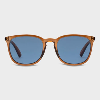 product: Le Specs Rebeller Sunglasses Syrup Navy Mono
