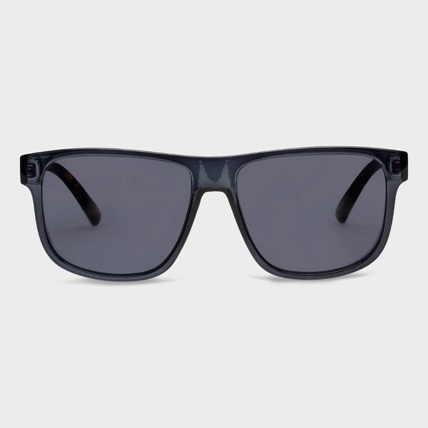 product: Le Specs What's The Story Sunglasses Iron Tort/ Smoke Mono