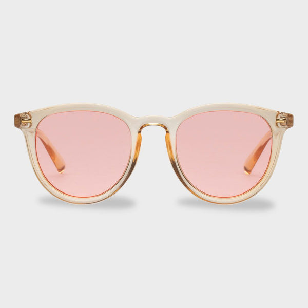 product: Le Specs Women's Fire Starter Sunglasses Blonde/ Coral Tint