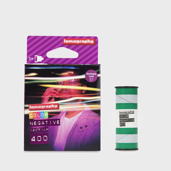 product: Lomography Color Negative 400 120mm Film - 3 Pcs