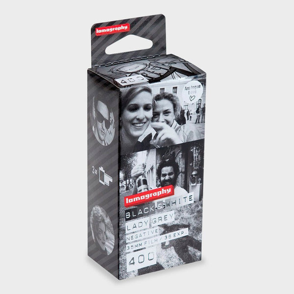 product: Lomography 35MM Film 400 ISO Lady Grey