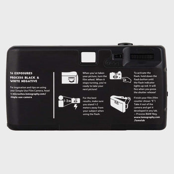 product: Lomography Simple Use Camera Black & White