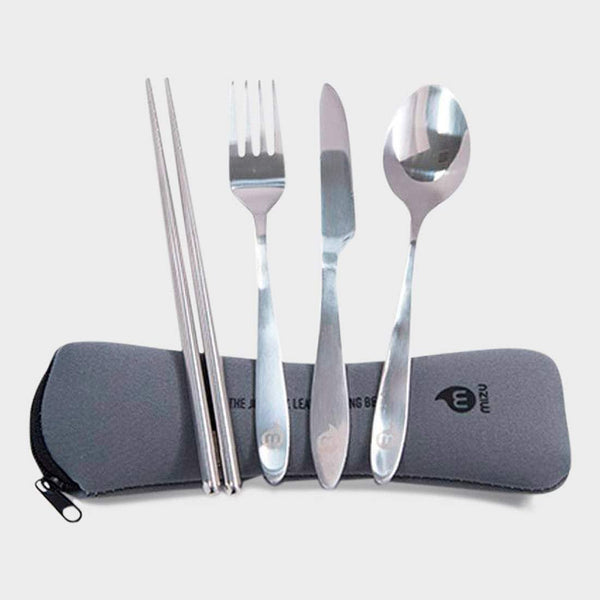 product: Mizu Cutlery Set Silver