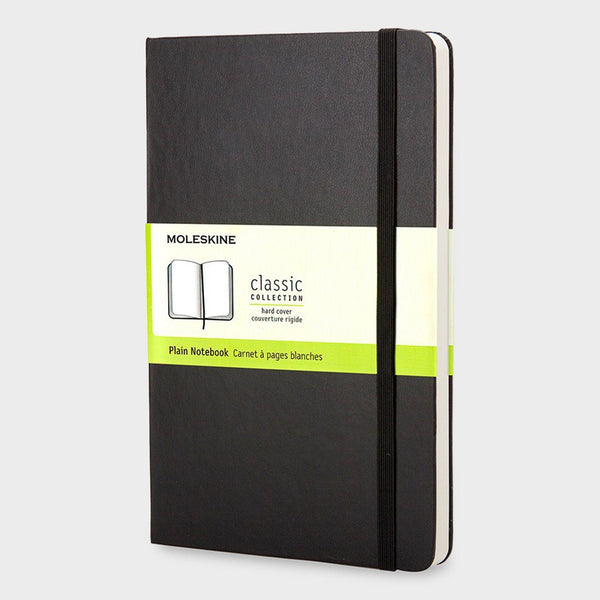 product: Moleskine Classic Notebook Hardcover/ Plain Black