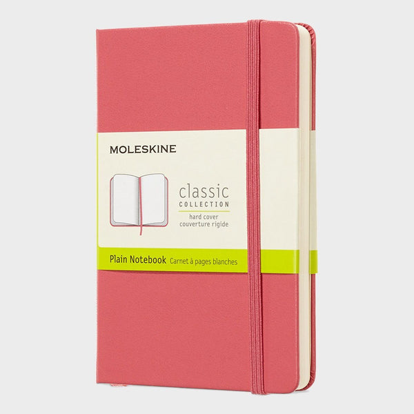 product: Moleskine Classic Notebook Hardcover/ Plain Pink