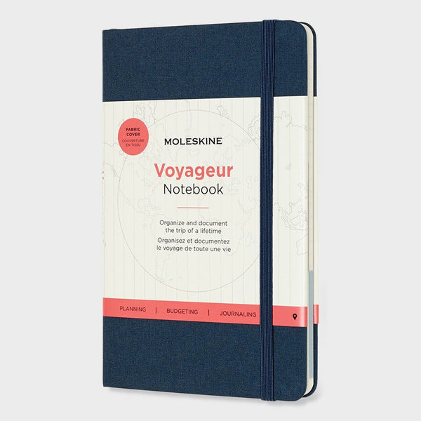 product: Moleskine Voyageur Notebook Ocean Blue