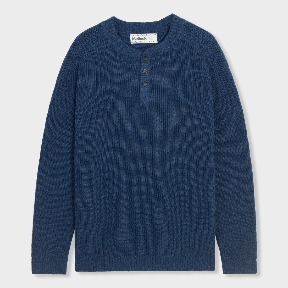 Mollusk Andover Sweater Navy