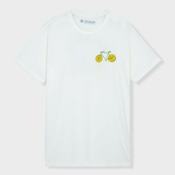product: Mollusk Bicycle T-Shirt White