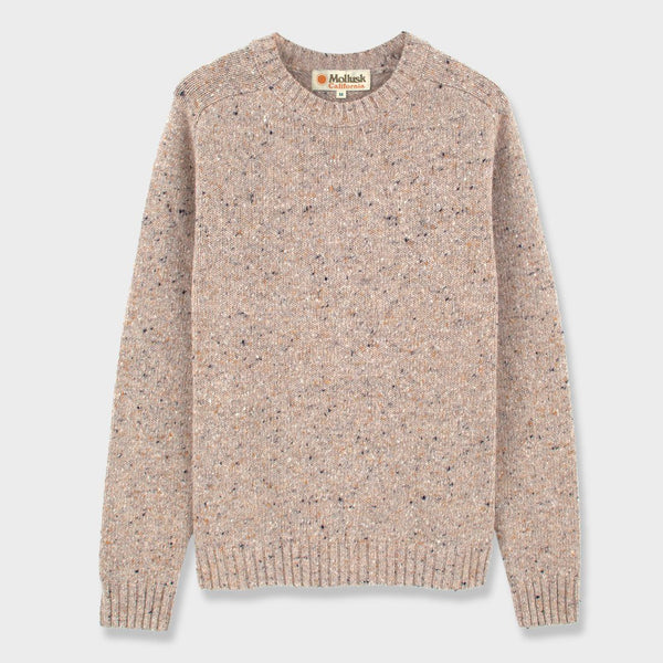 product: Mollusk Cambridge Sweater Oatcake