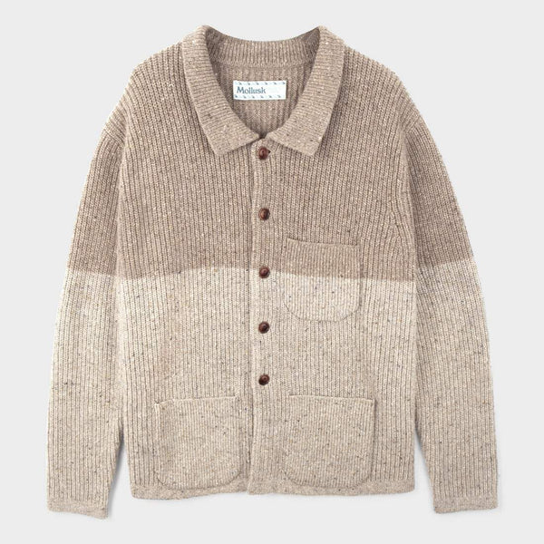product: Mollusk Cheever Sweater Oatcake
