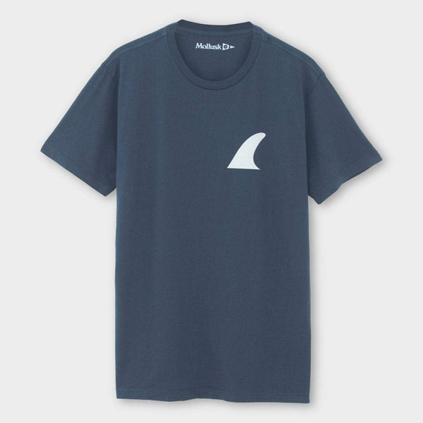 product: Mollusk Silverfin T-Shirt Faded Navy