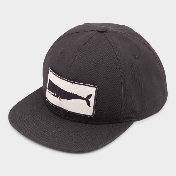 product: Mollusk Whale Patch Hat Black