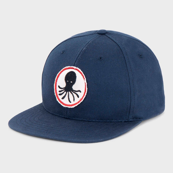 product: Mollusk Octopus Patch Hat Navy