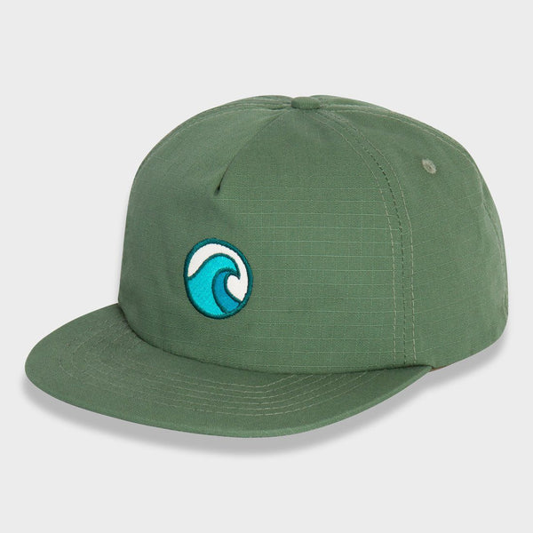 product: Mollusk Small Wave Hat Wakame