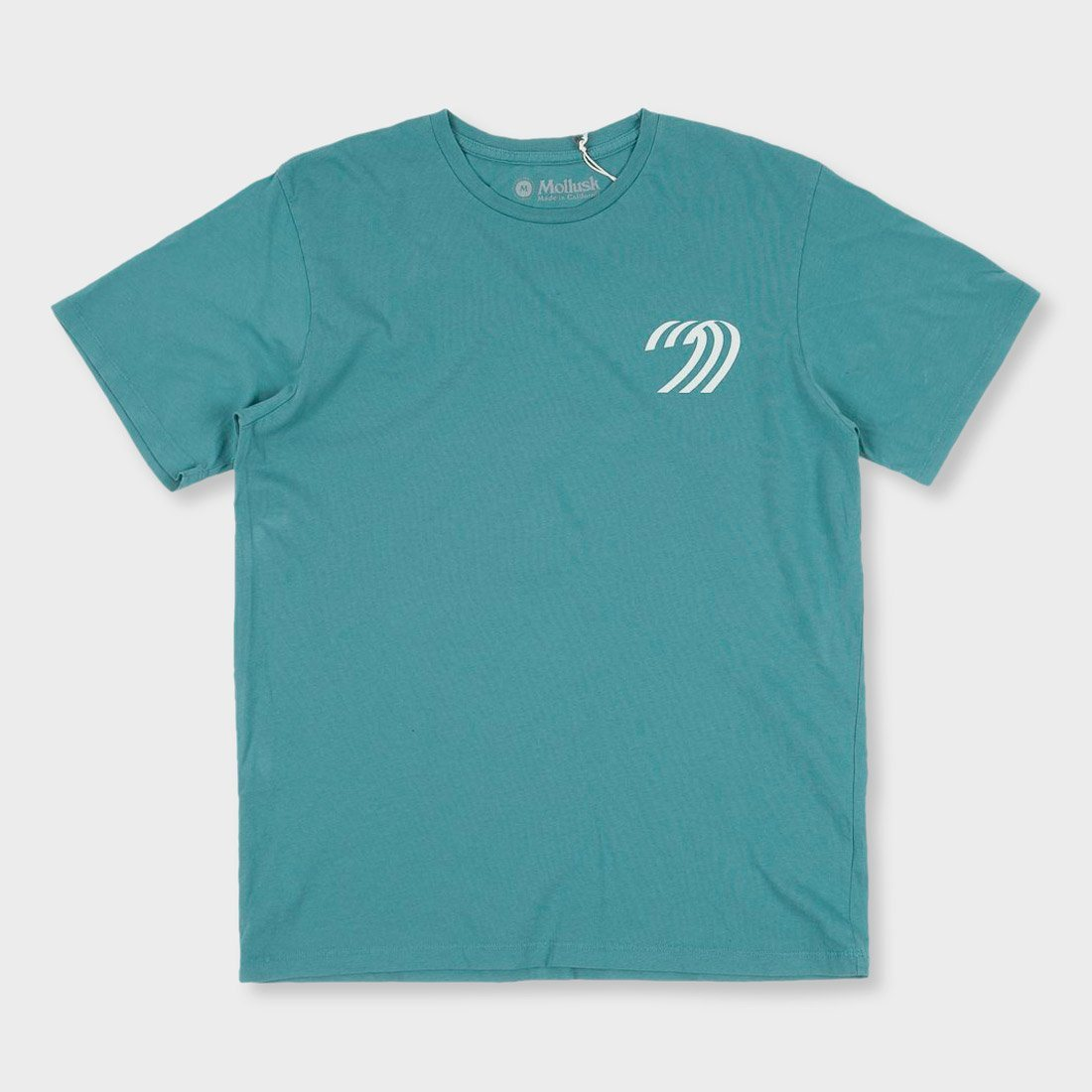Mollusk Team T-Shirt Washed Sapphire