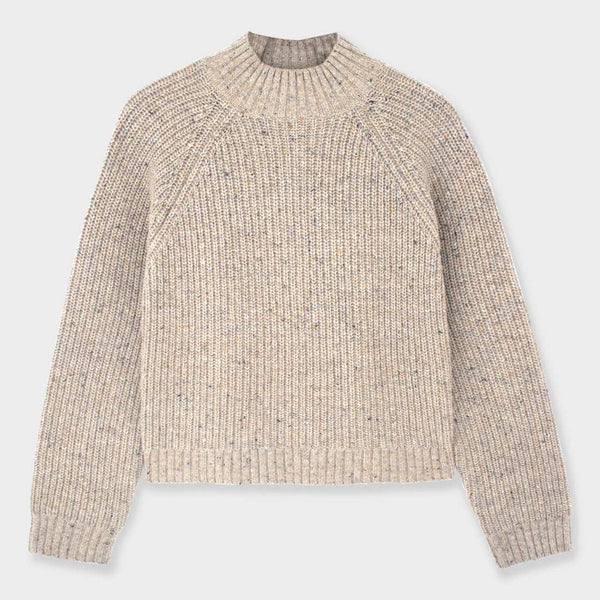 product: Mollusk Teddy Sweater Oatcake