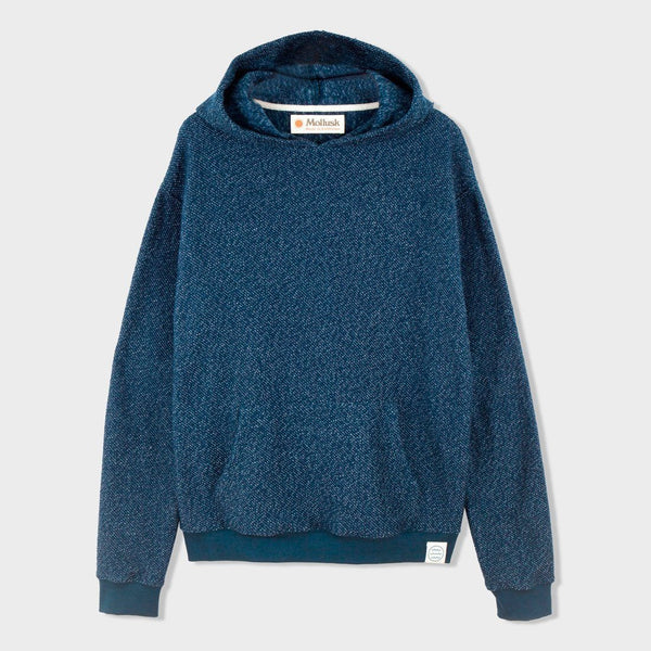 product: Mollusk Wave Patch Pullover Navy Indigo
