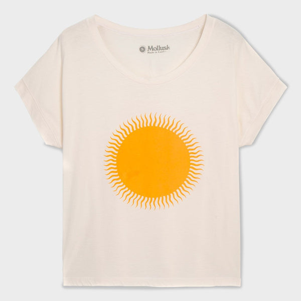 product: Mollusk Women's Country Sun T-Shirt Antique White