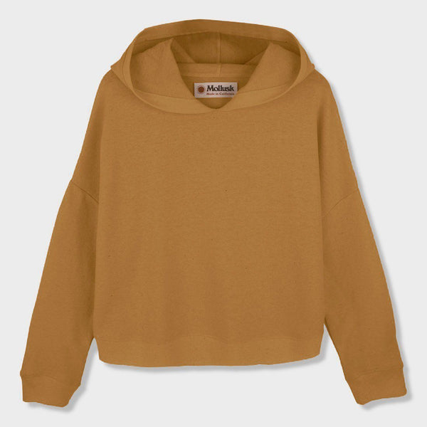 product: Mollusk Women's Morning Light Pullover Sunshine