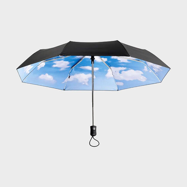 product: MoMA Sky Umbrella Collapsible 37""
