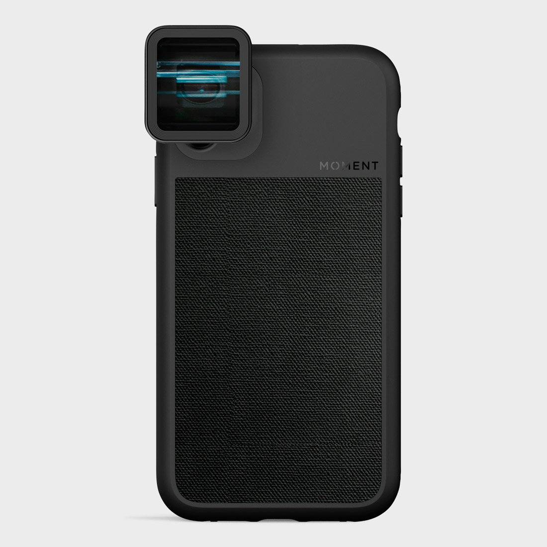 Moment Photo Case iPhone 11 Black Canvas