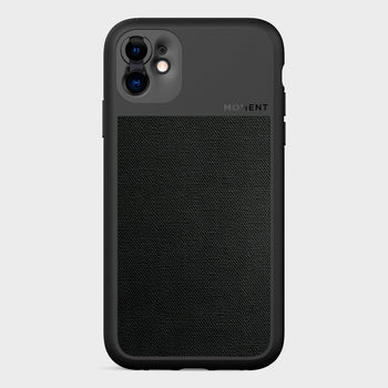 product: Moment Photo Case iPhone 11 Black Canvas
