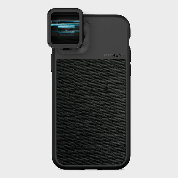 product: Moment Photo Case iPhone 11 Pro Black Canvas