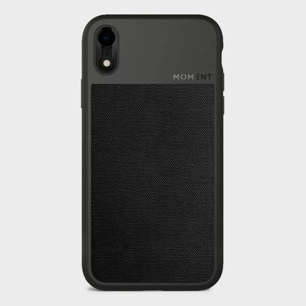 product: Moment Photo Case iPhone XR Black Canvas