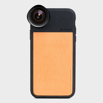 product: Moment Photo Case iPhone XS Black Speckle