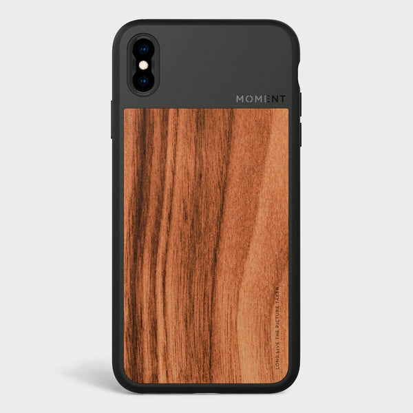 product: Moment Photo Case iPhone XS Walnut